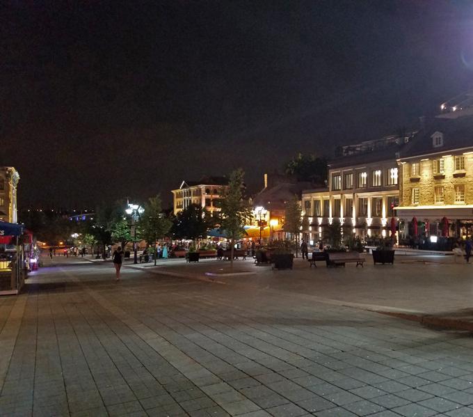 Montreal at night 3