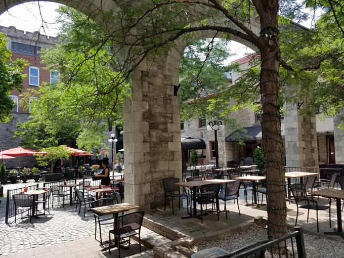 Ottawa courtyard