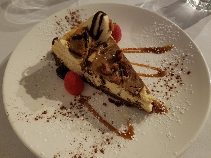 cheesecake at Antonias