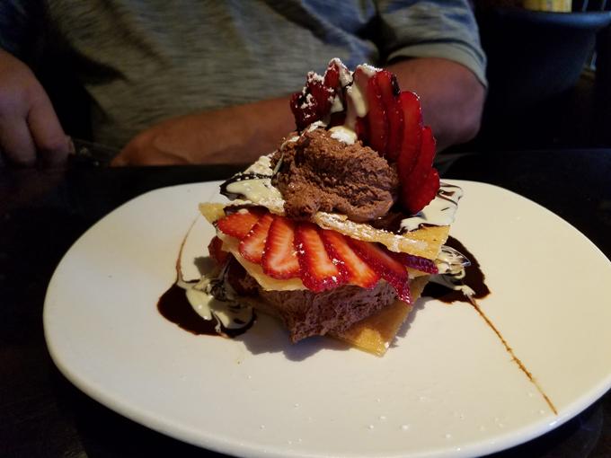 dessert at Wooden Heads