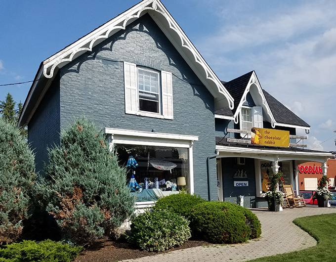 Lakefield chocolate shop