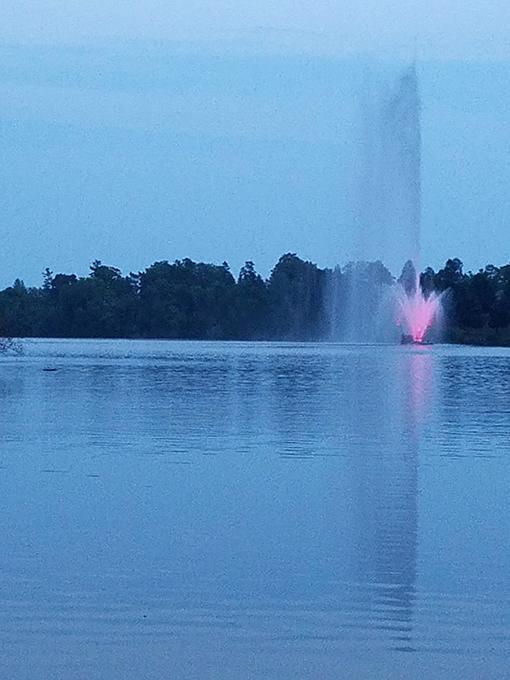 Peterborough fountain