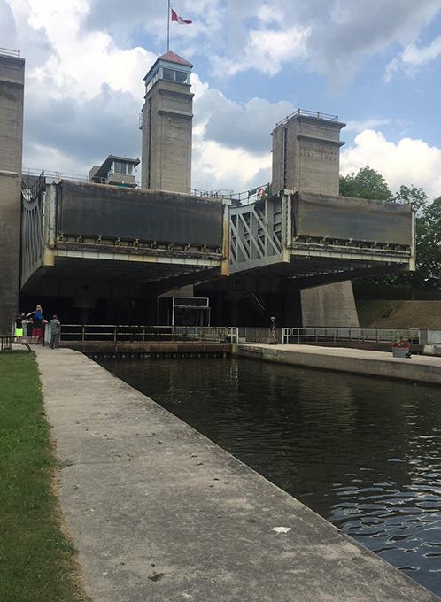 Peterborough lift lock 1c