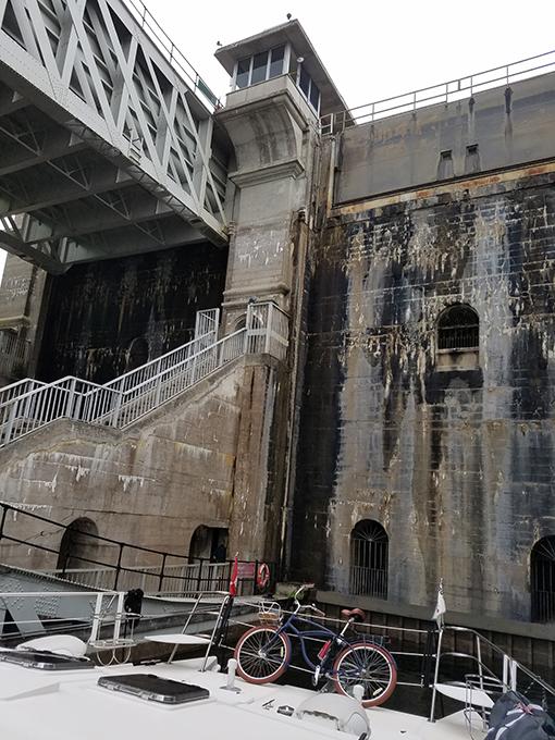 Peterborough lift lock 3