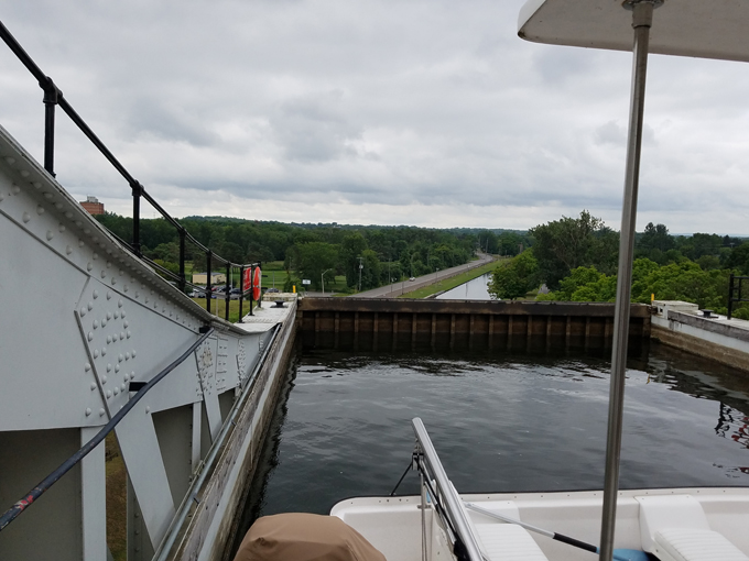 Peterborough lift lock 6