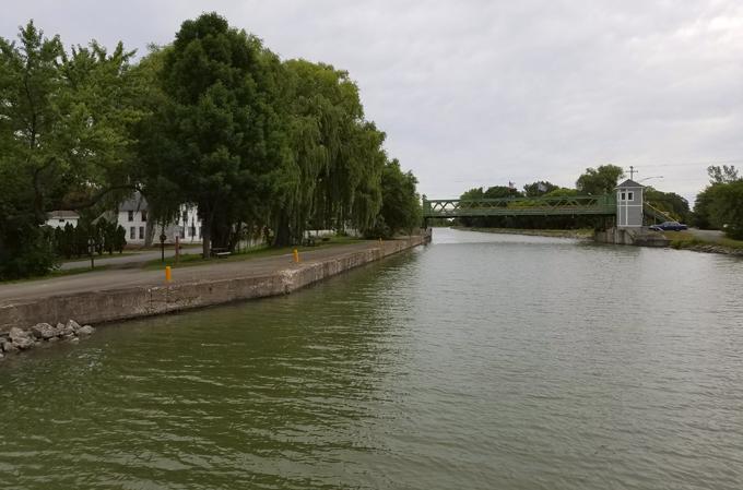 Erie Canal bridge
