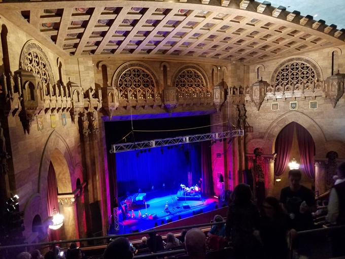 Ithaca concert hall