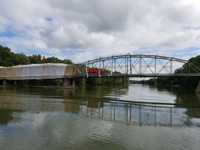 painting a bridge