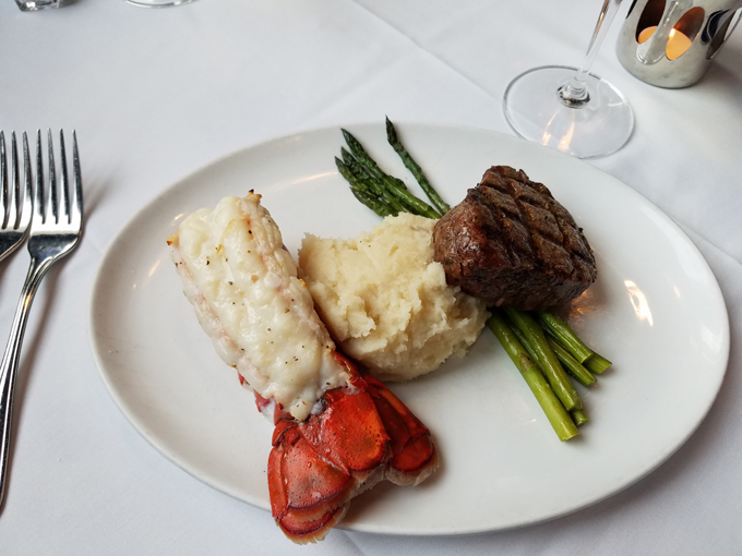 Surf and turf Cleveland