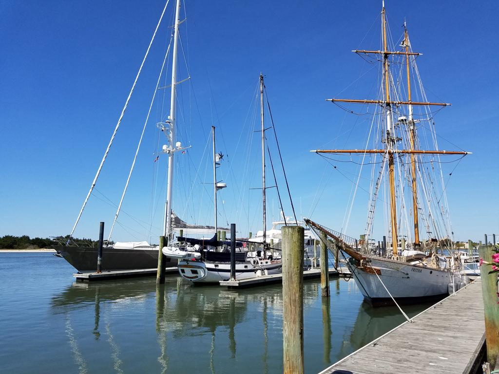 April 21 Beaufort docks