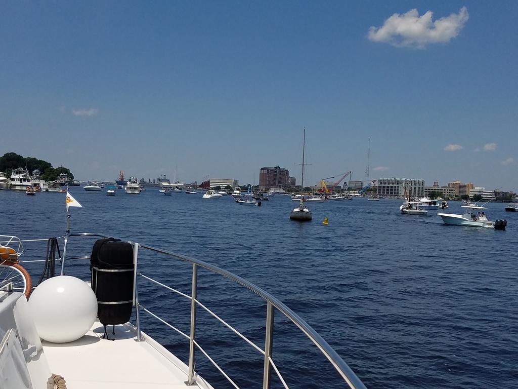 boat traffic in Norfolk