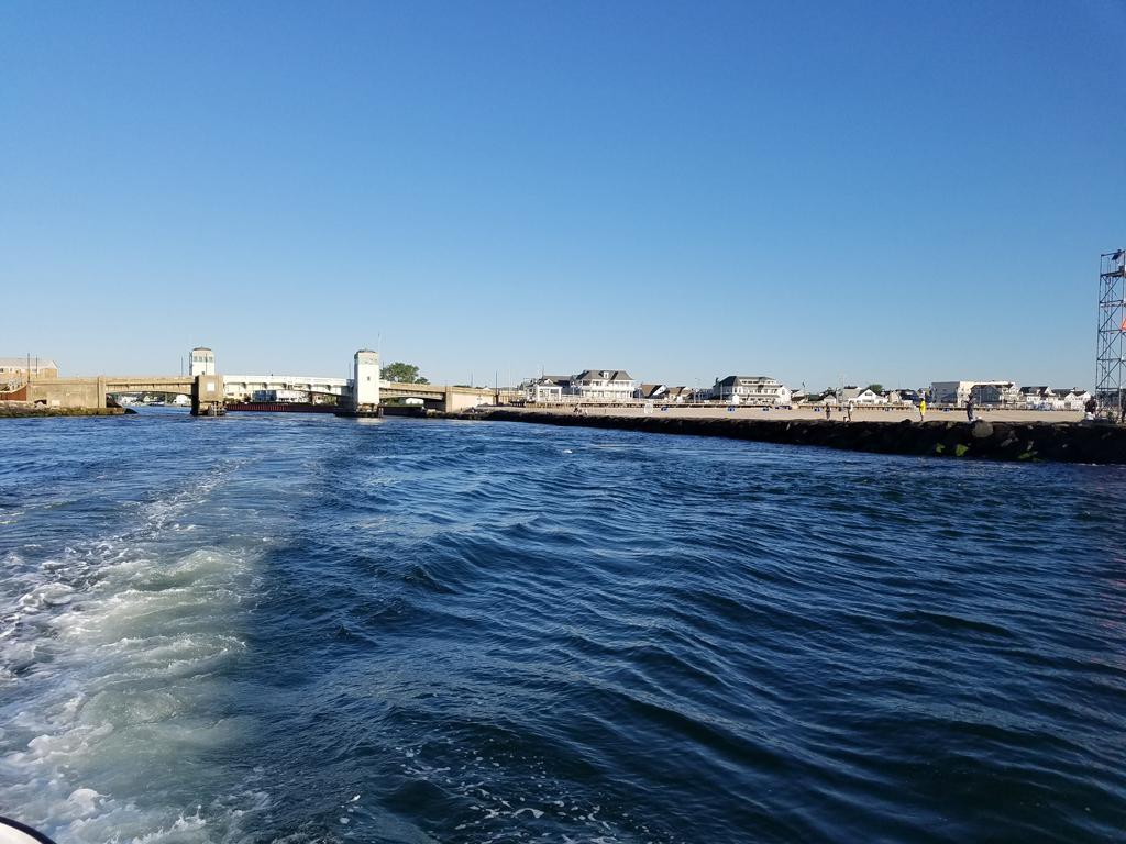 leaving Shark River