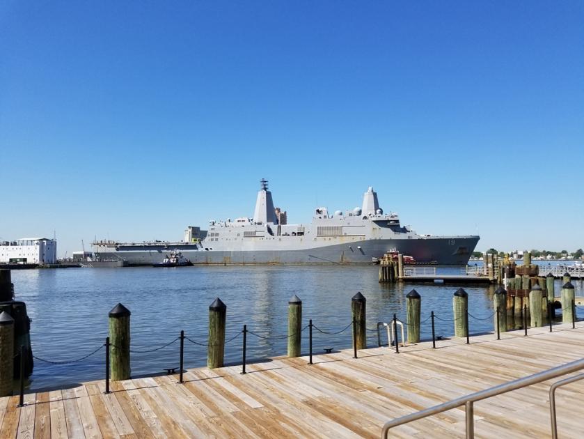 May 1 warship