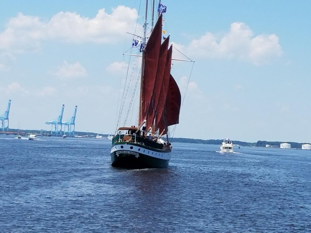 tall ship in Norfolk