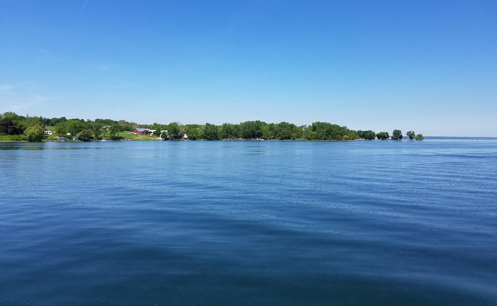 Cayuga Lake west Sheldrake Point