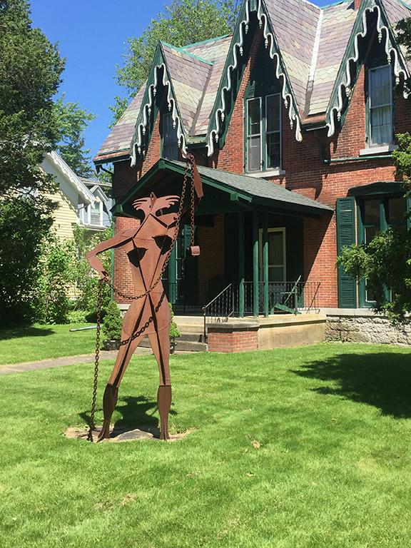 Seneca Falls sculpture trail