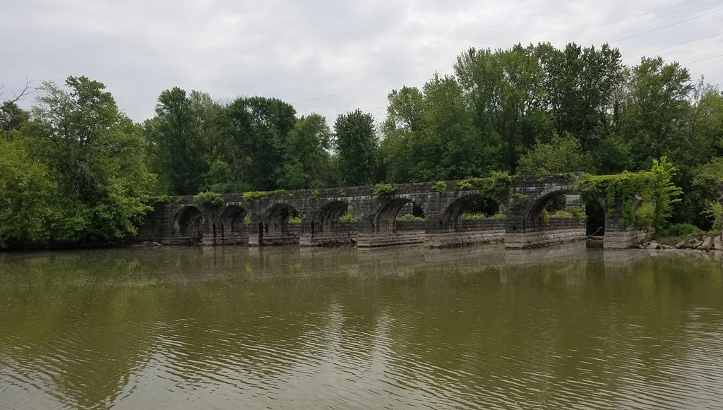 Seneca River Aqueduct ruins