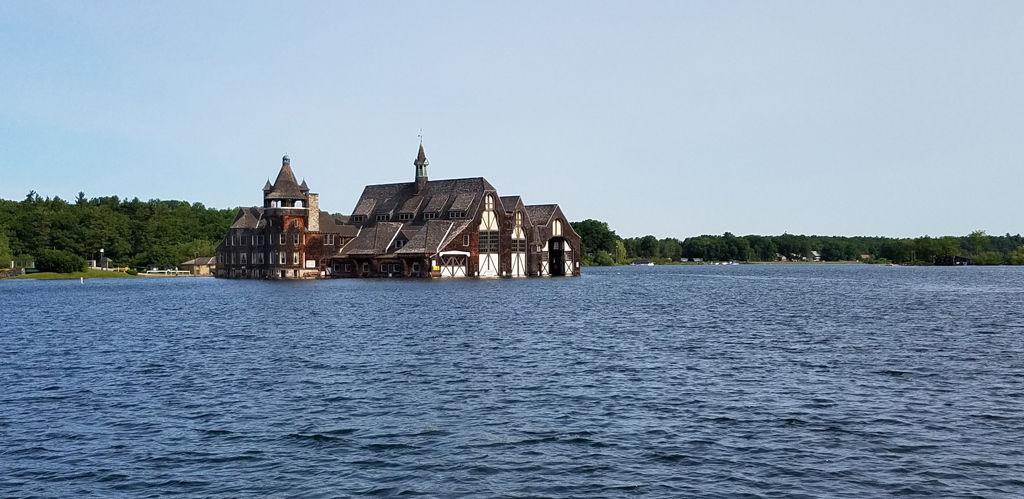 Boldt Castle Yacht House