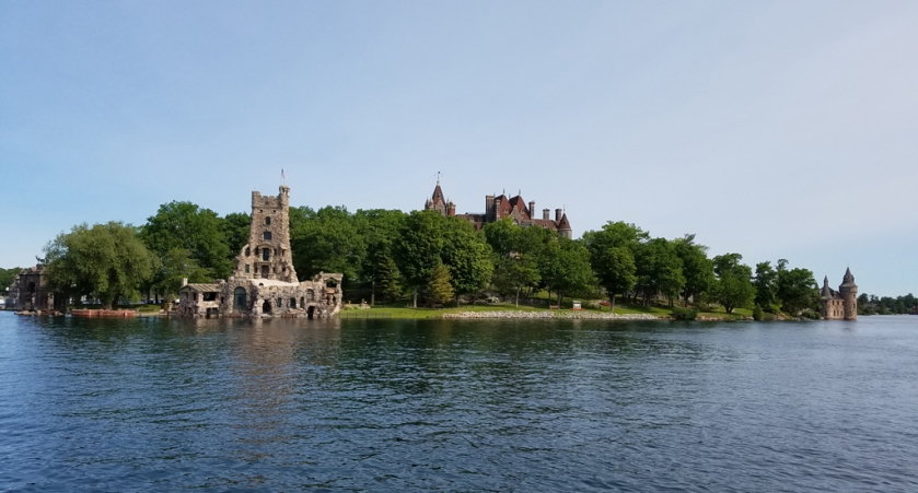 Boldt Castle from the water
