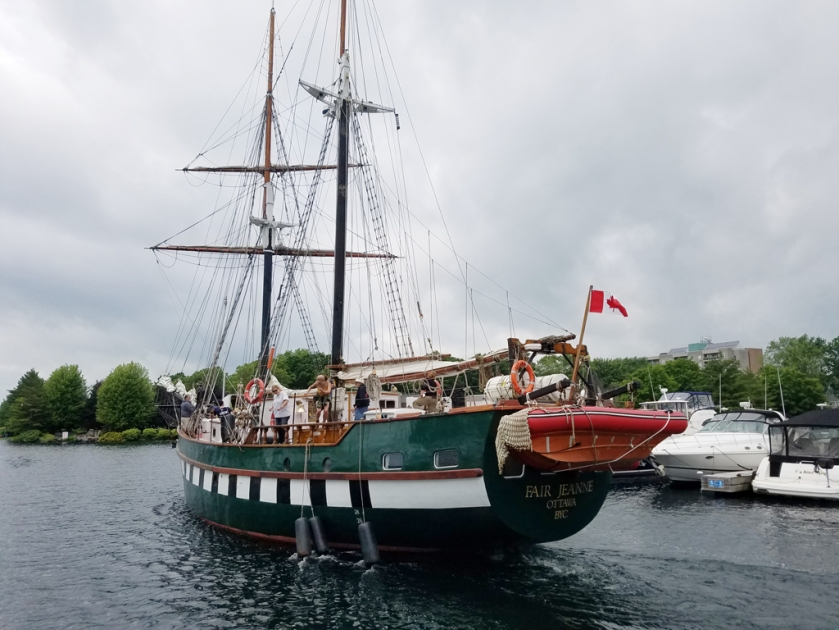 Brockville tall ship