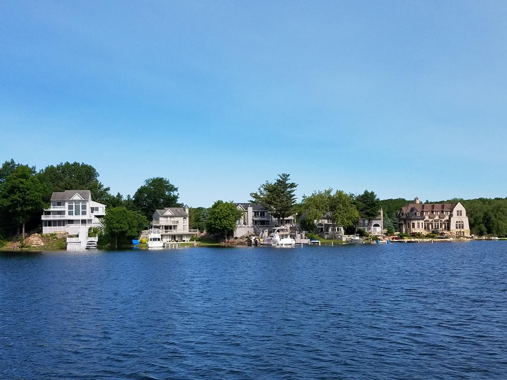 riverfront homes Wellesley Island
