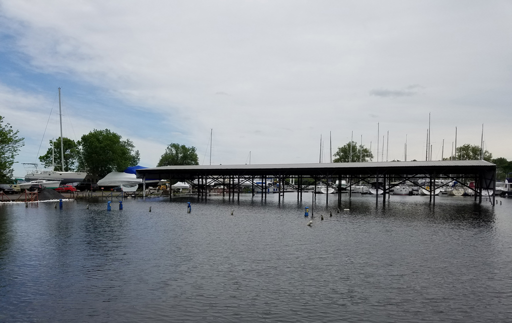 Sacketts Harbor marina