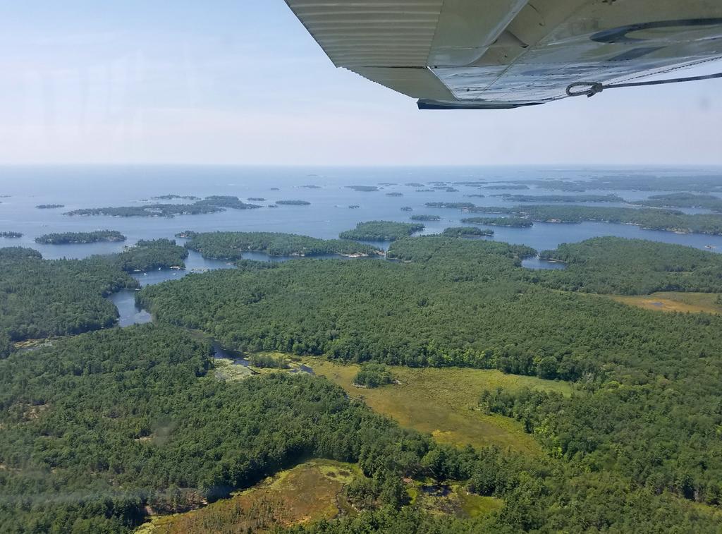 Georgian Bay from the air 2