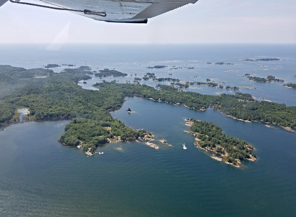 Georgian Bay from the air 5