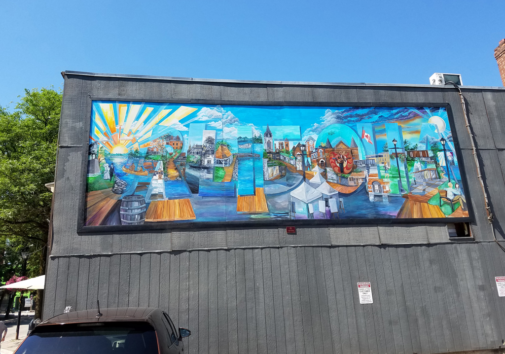 Orillia mural