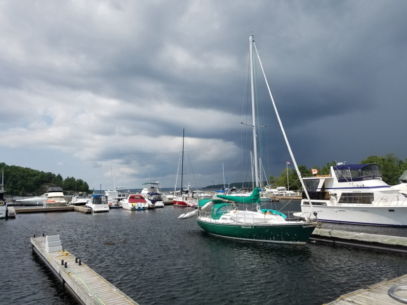 Parry Sound marina