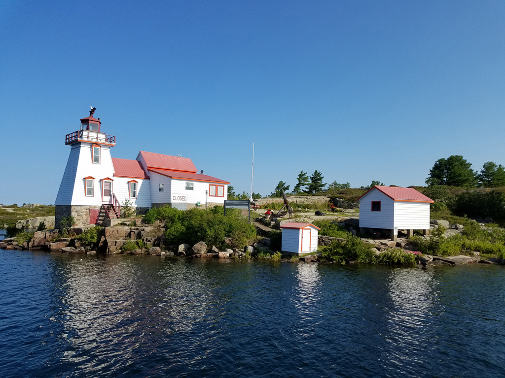 Pointe au Baril Lighthouse