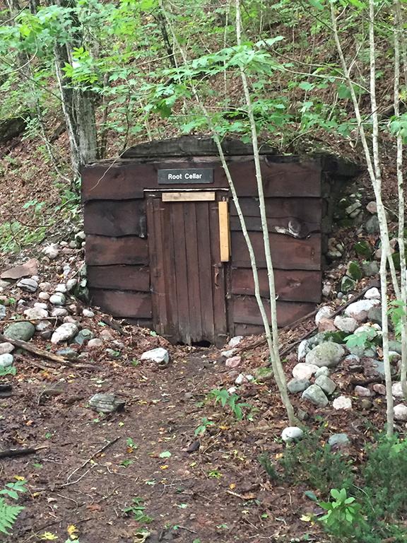 Agawa Canyon park root cellar