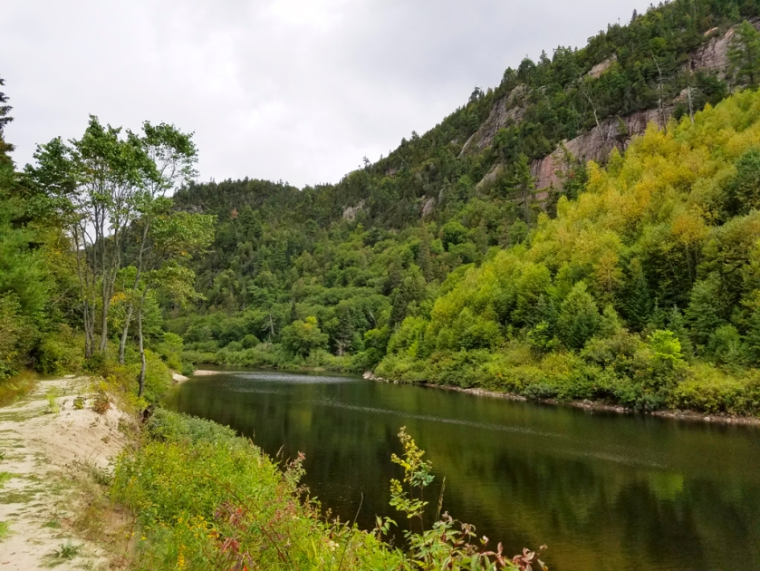 Agawa Canyon river
