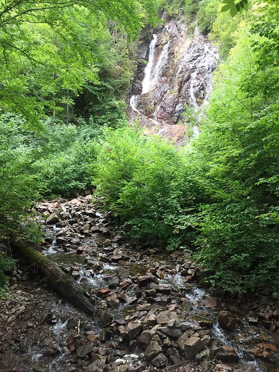 Agawa Canyon waterfall 2